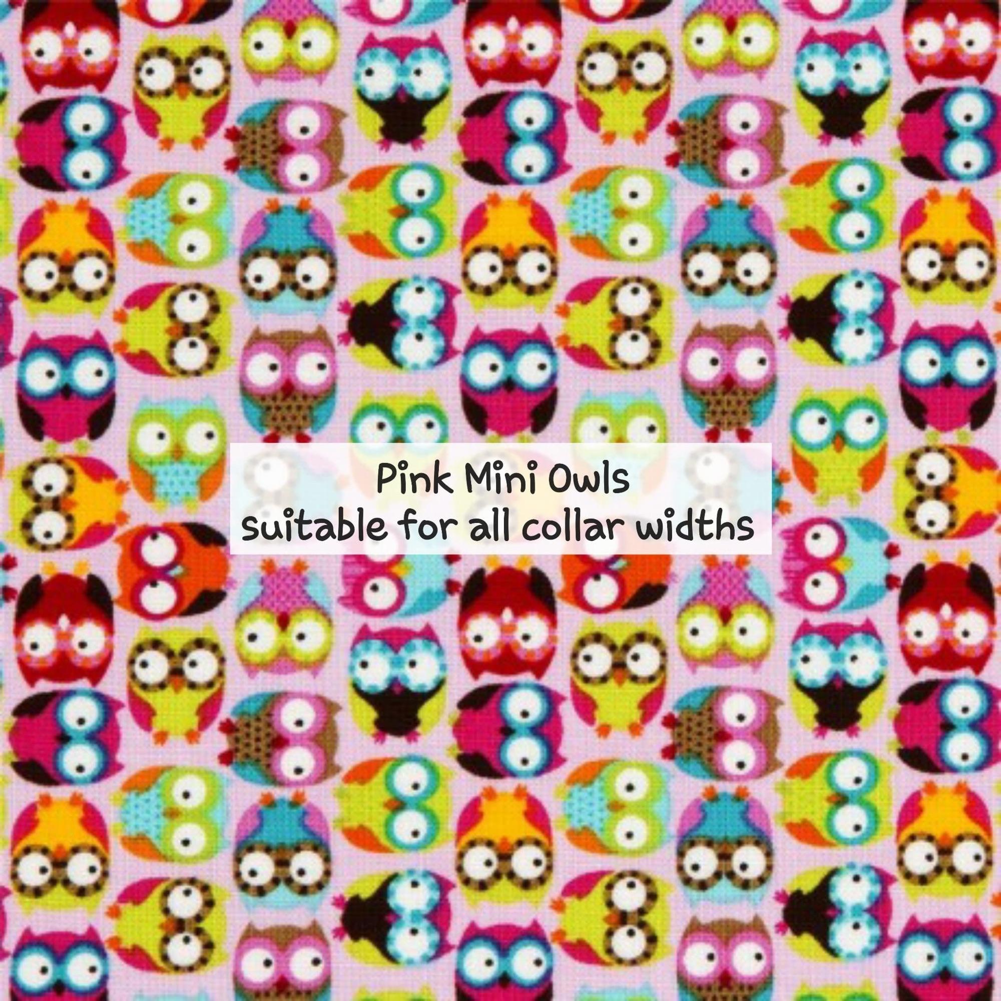 pink mini owls