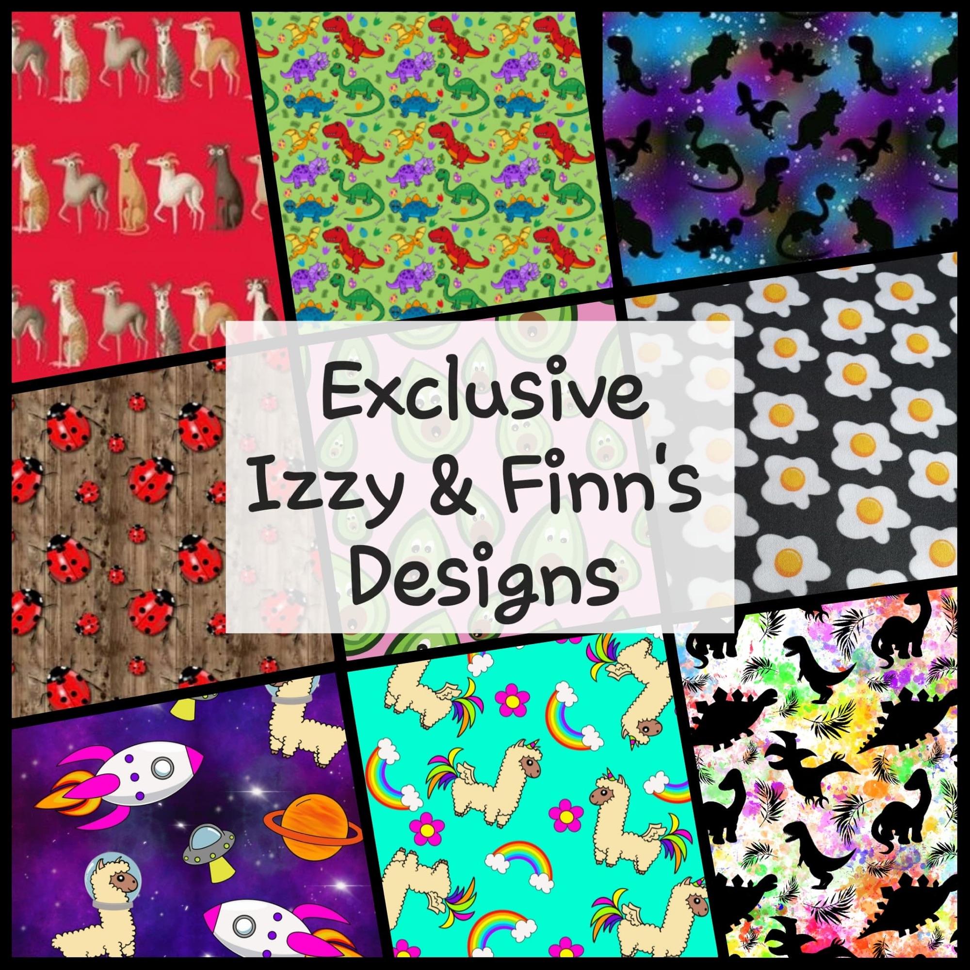 Exclsusive Izzy & Finn's Designs