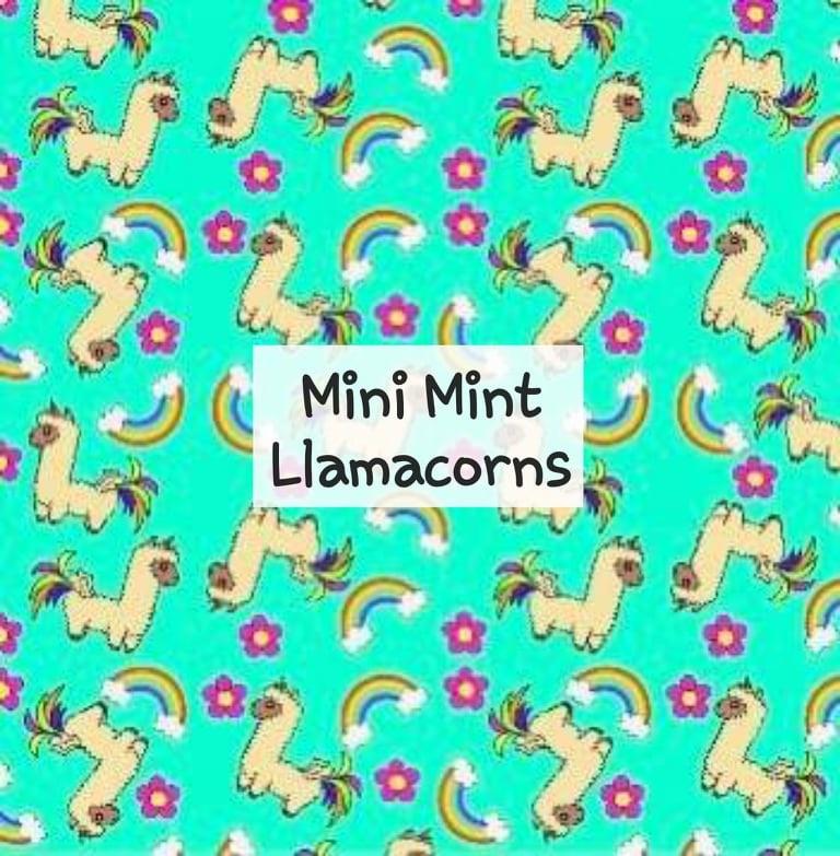 Mini Mint Llamacorns