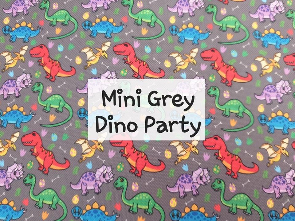 Mini Grey Dino Party