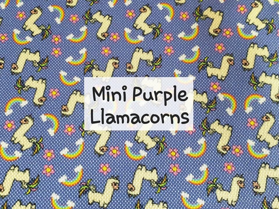 Mini Purple Llamacorns