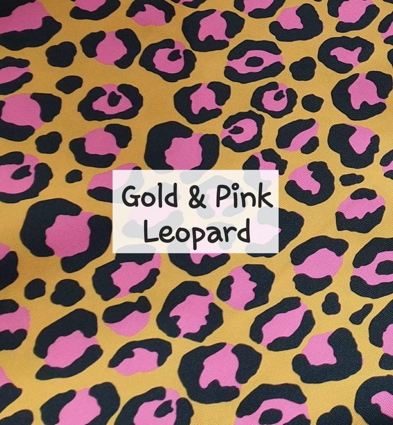 Gold & Pink Leopard