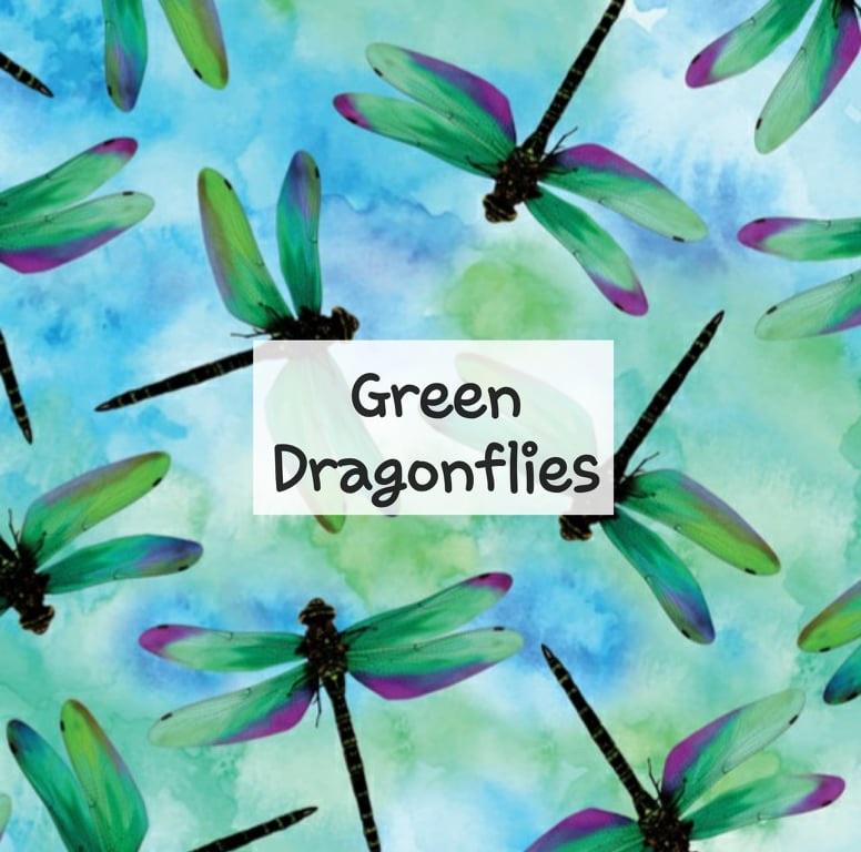 Green Dragonflies