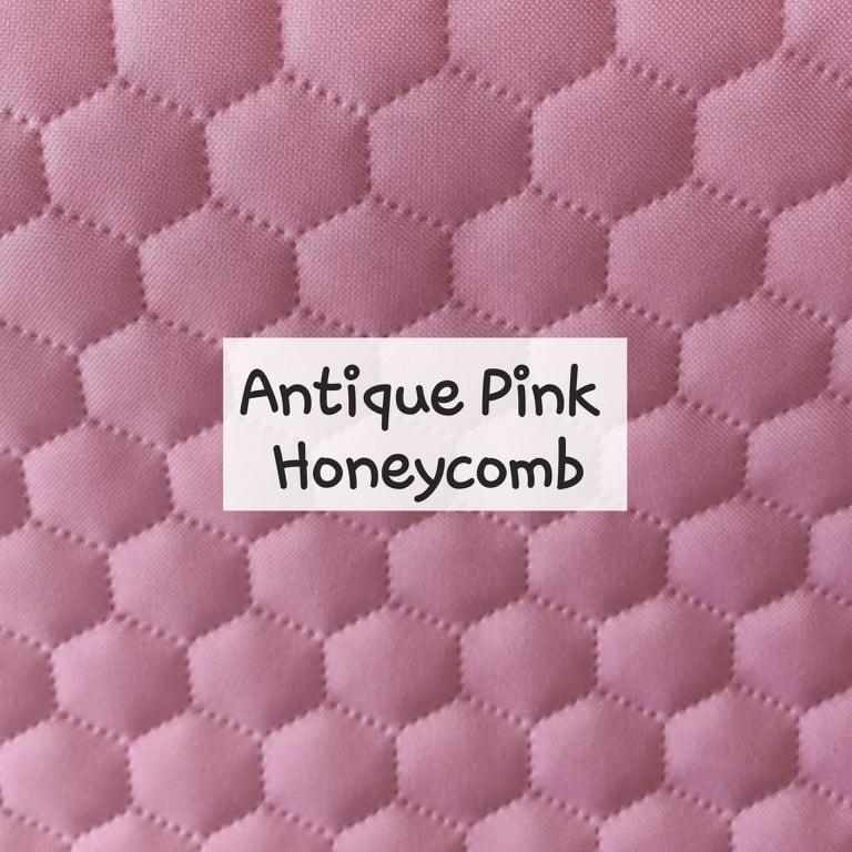 Antique Pink Honeycomb