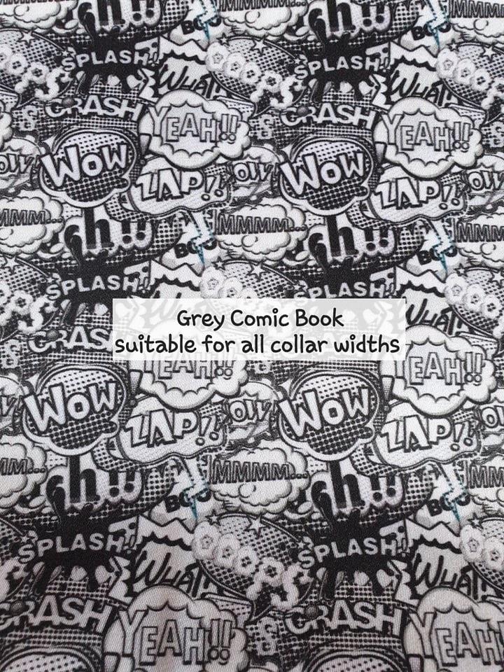 Grey Comic Book