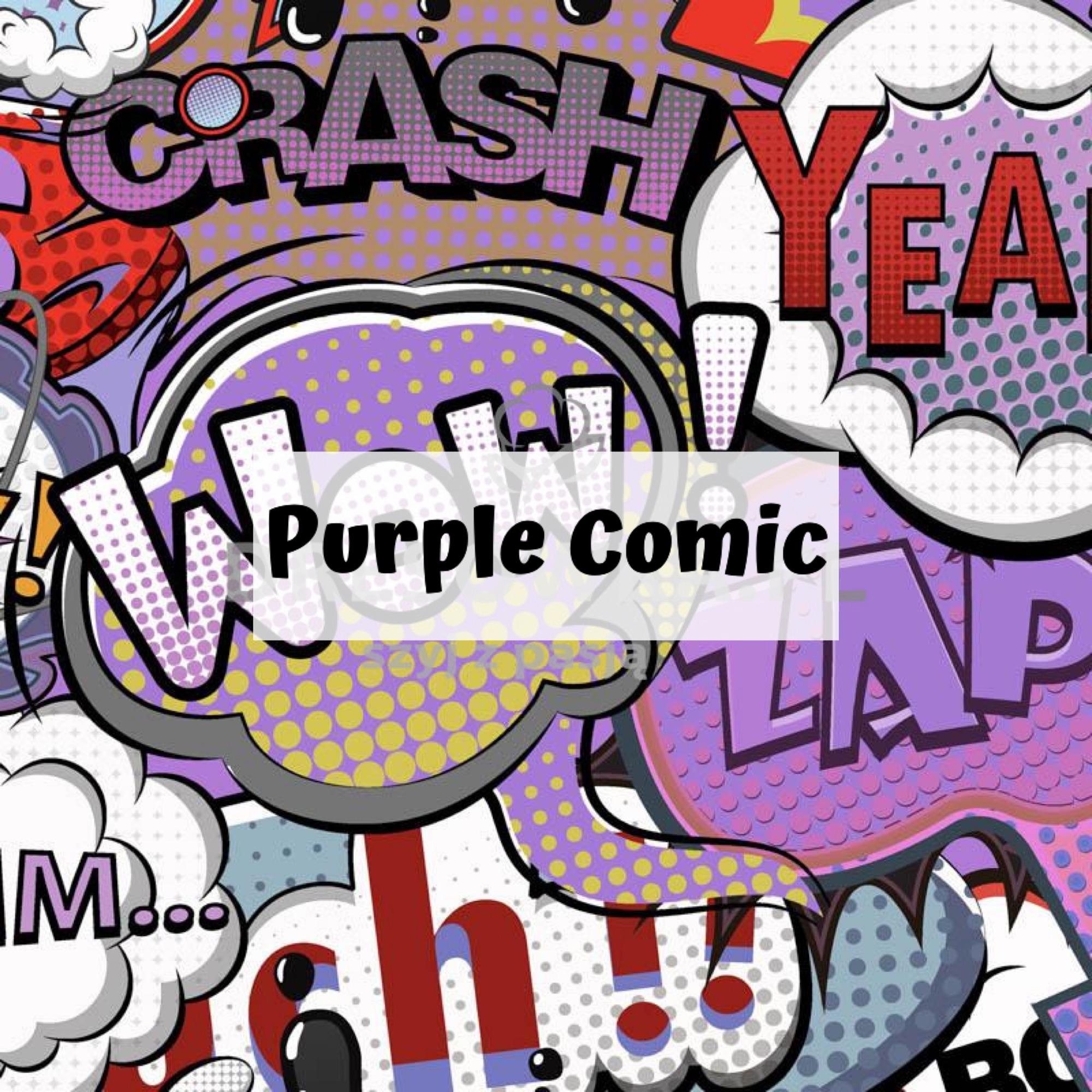 Purple Comic
