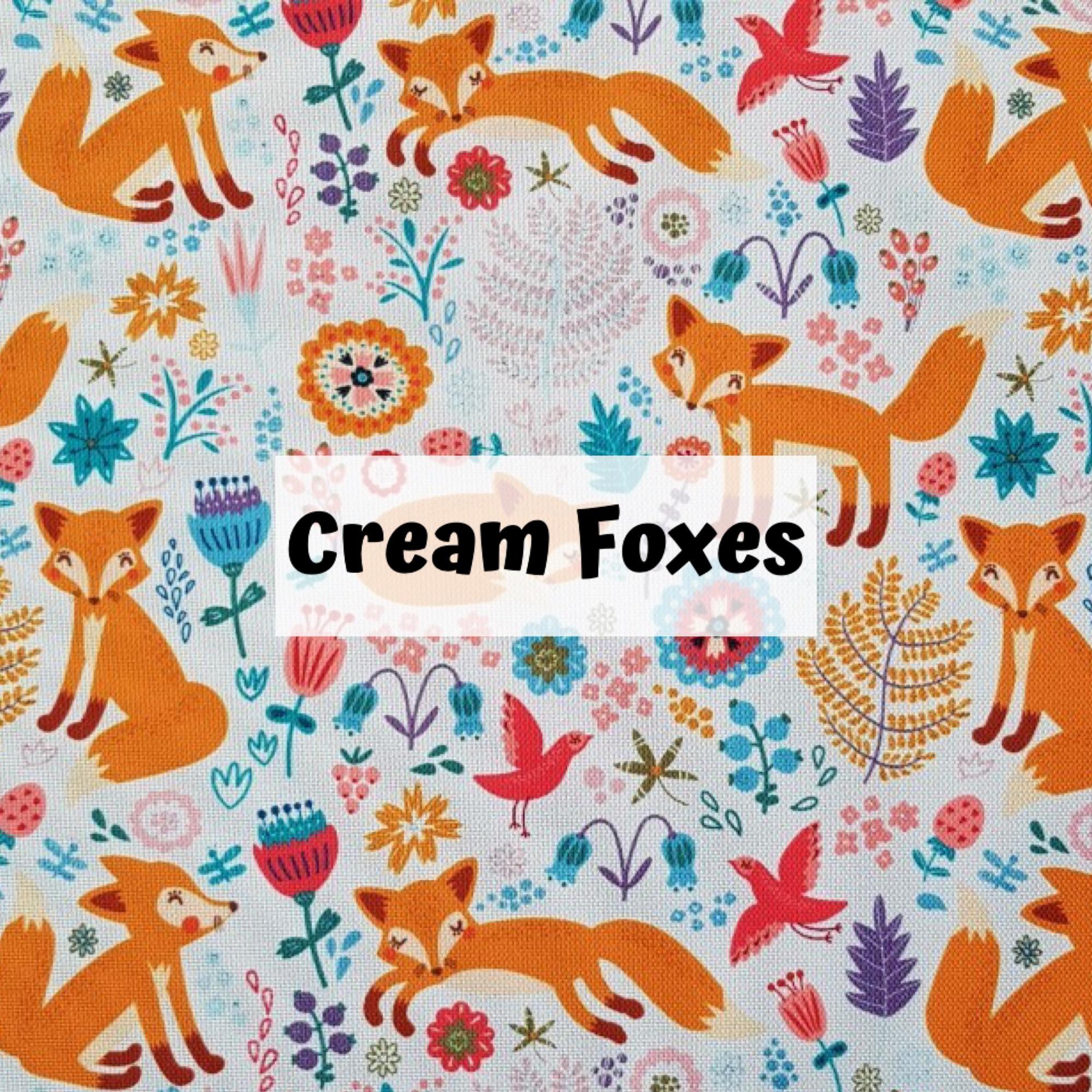 Cream Foxes