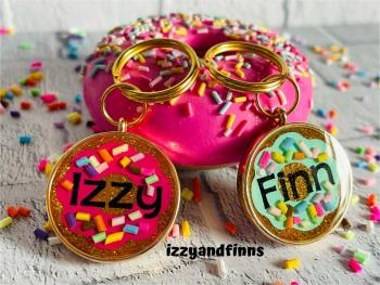 25mm Resin Donut Tag