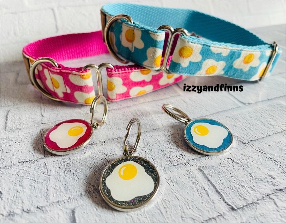 25mm Resin Fried Egg Tag