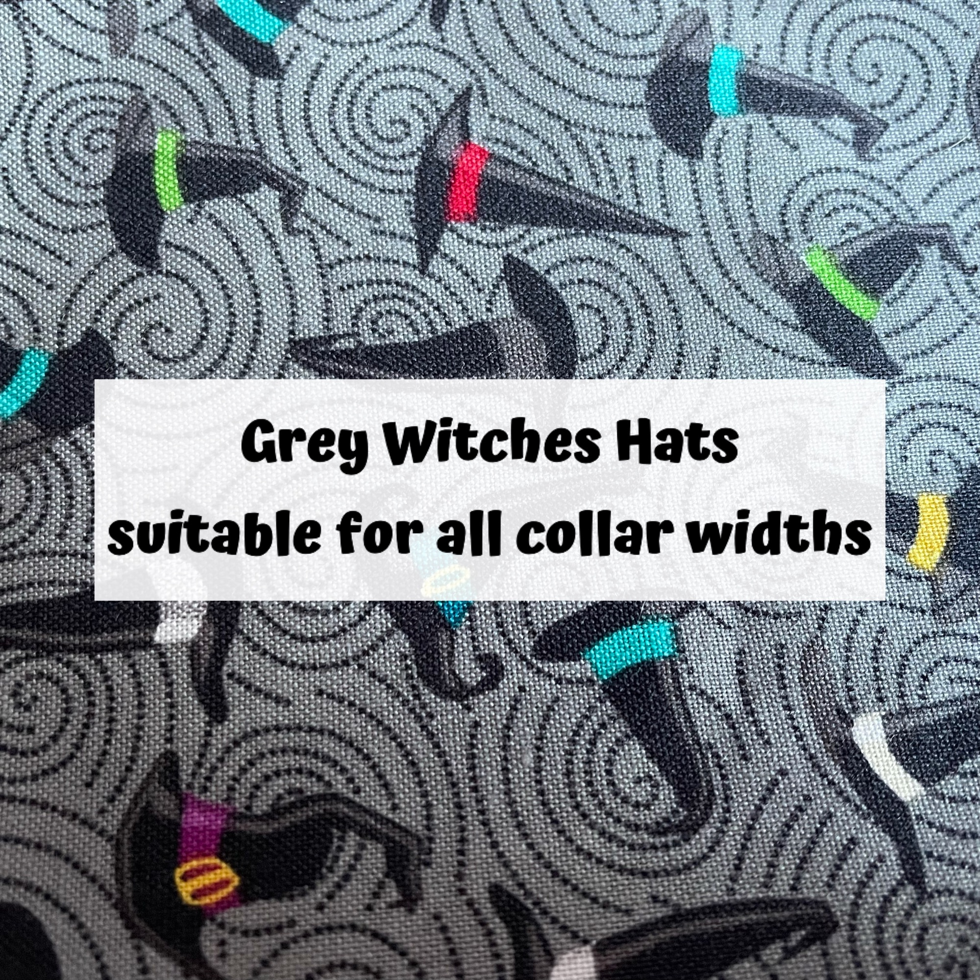 Grey Witches Hats