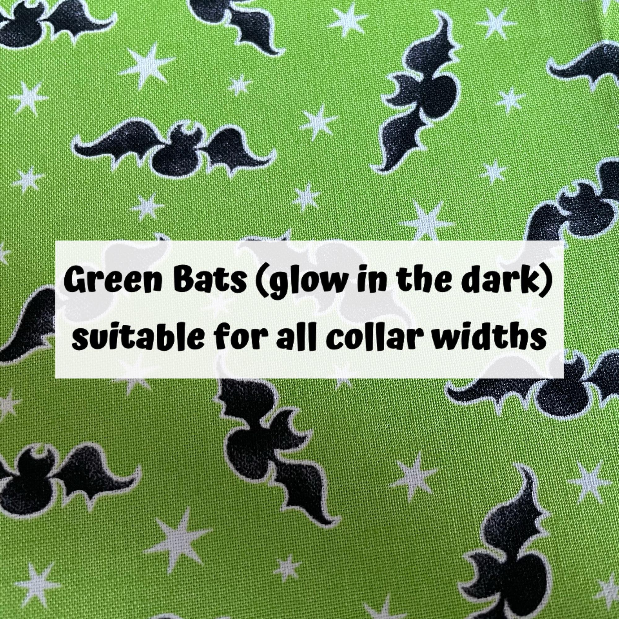 Green Bats (glow in the dark)