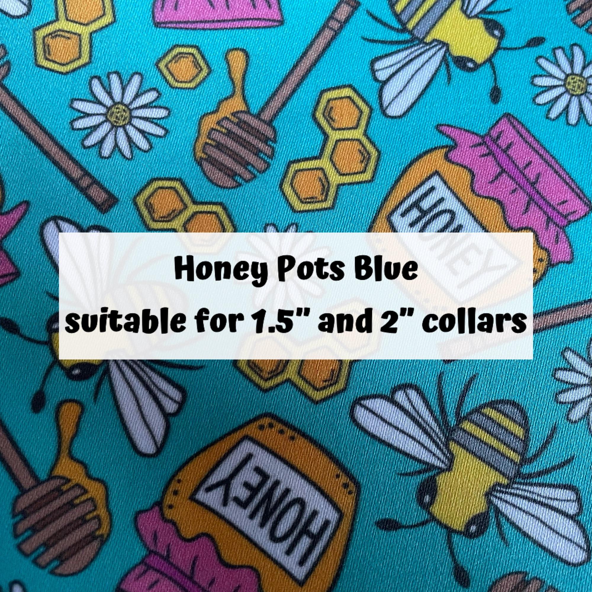 Honey Pots Blue