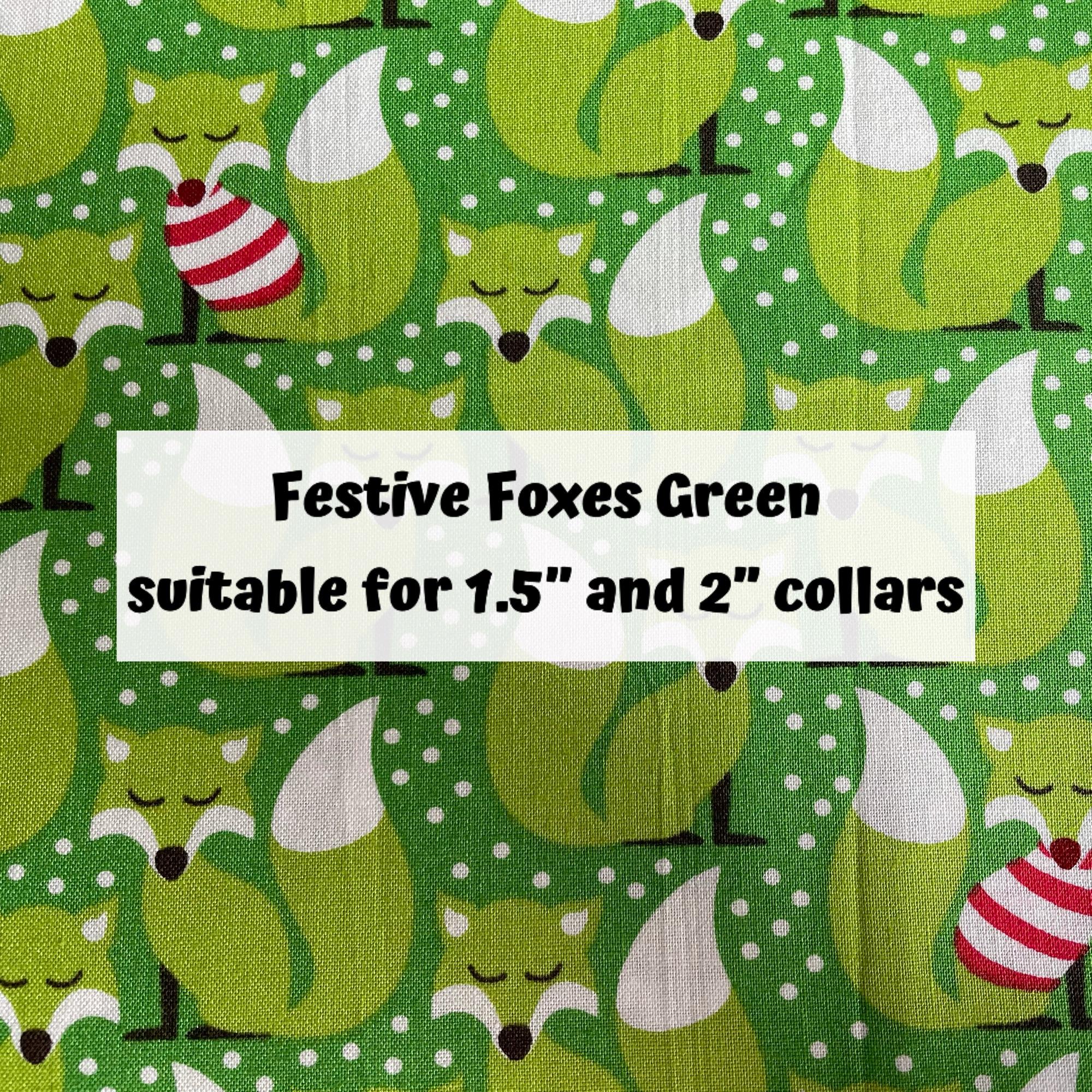 Festive Foxes Green