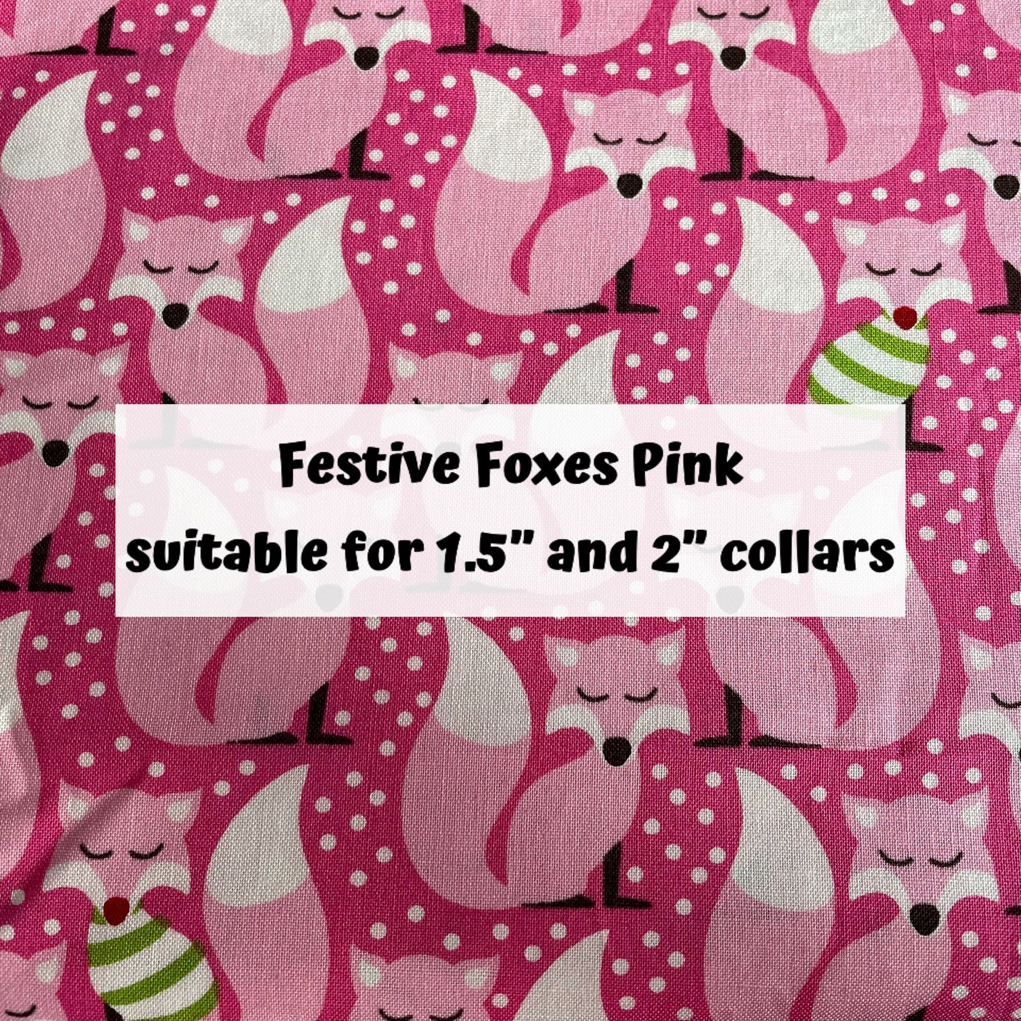 Festive Foxes Pink