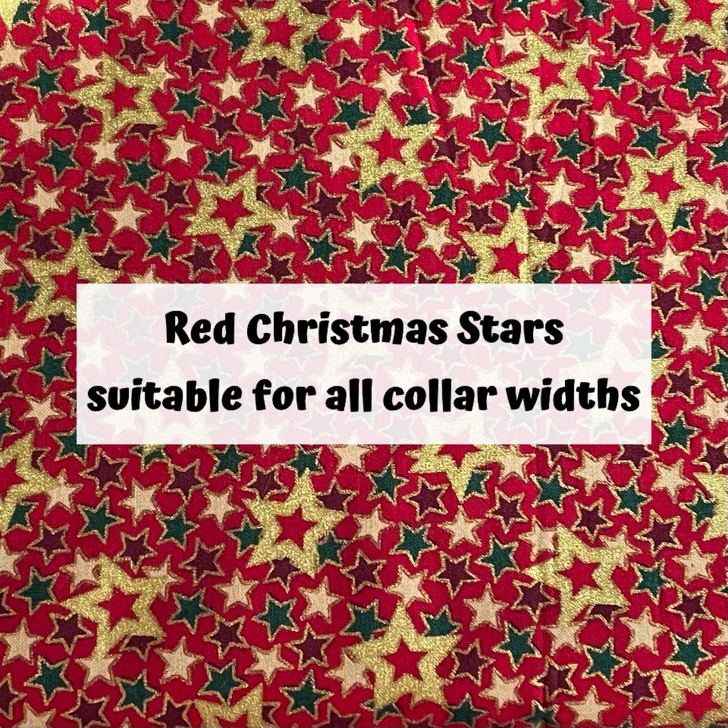 Red Christmas Stars