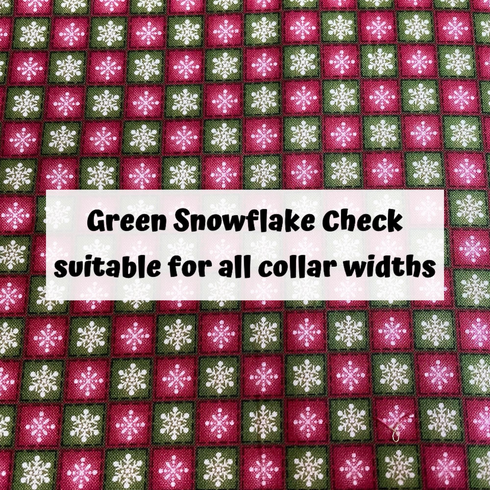 Green Snowflake Check