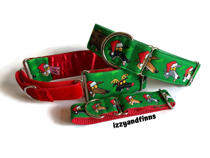 *NEW* Richard Skipworth Festive Derps Fabric Collars  **Made to Order**