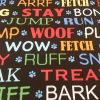 Dog Words - Suitable for 1.5 and 2 inch collars