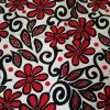 Florals and Swirls Red - Suitable for 1, 1.5 and 2 inch collars