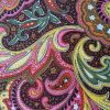 Pink Yellow Paisley - Suitable for 1, 1.5 and 2 inch collars
