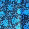 Blue Flowers - Suitable for 1.5 and 2 inch collars