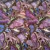 Bright Butterflies Purple - Suitable for 1, 1.5 and 2 inch collars