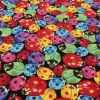 Bright Ladybirds - Suitable for 1.5 and 2 inch collars