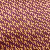 Mini Gold and Purple Foxes - Suitable for 1, 1.5 and 2 inch collars