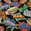 Superhero Words - Suitable for 1.5 and 2 inch collars