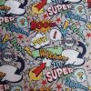 Comic Book Grey - Suitable for 1, 1.5 and 2 inch collars