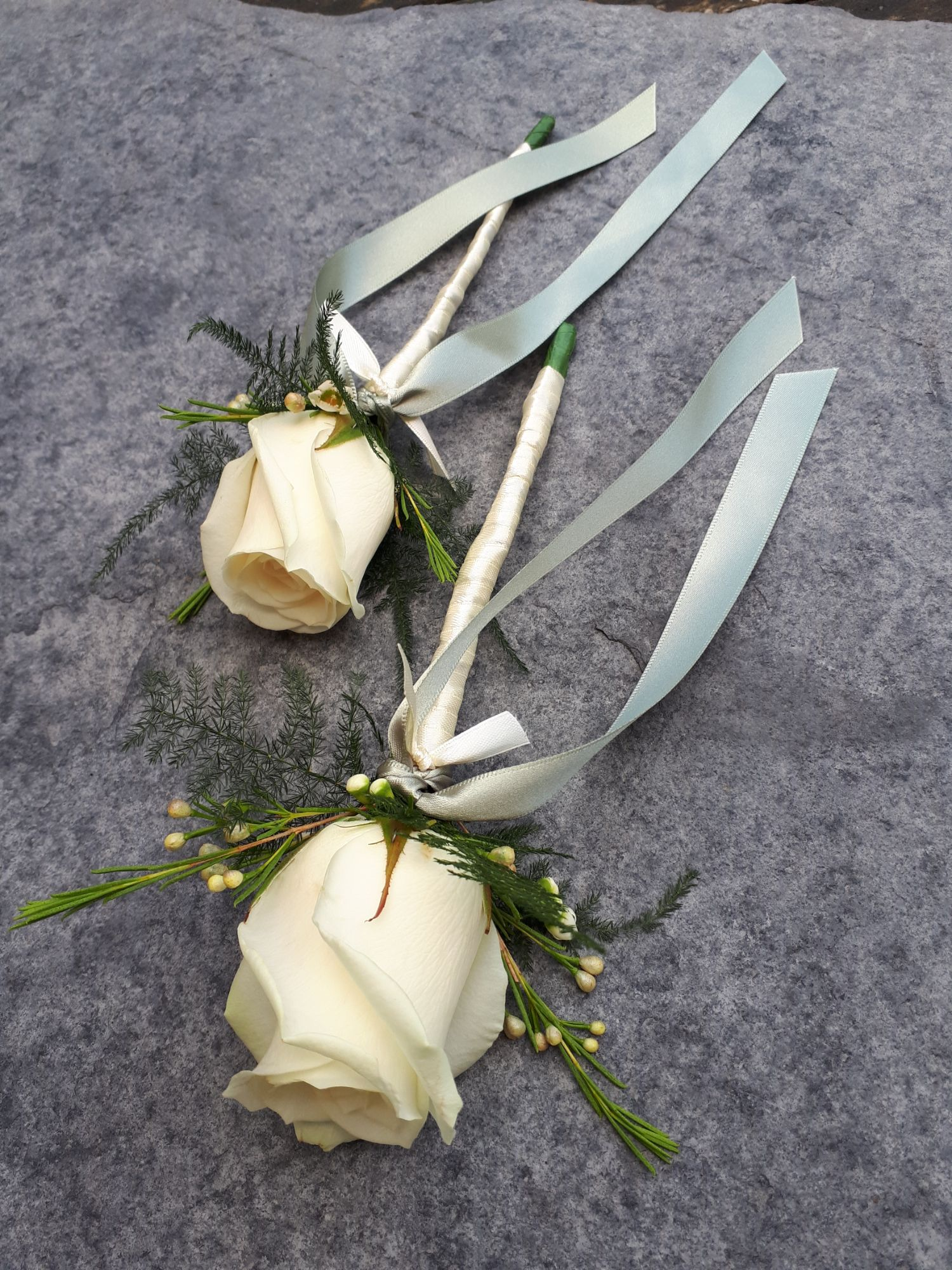Flower girls flower wands