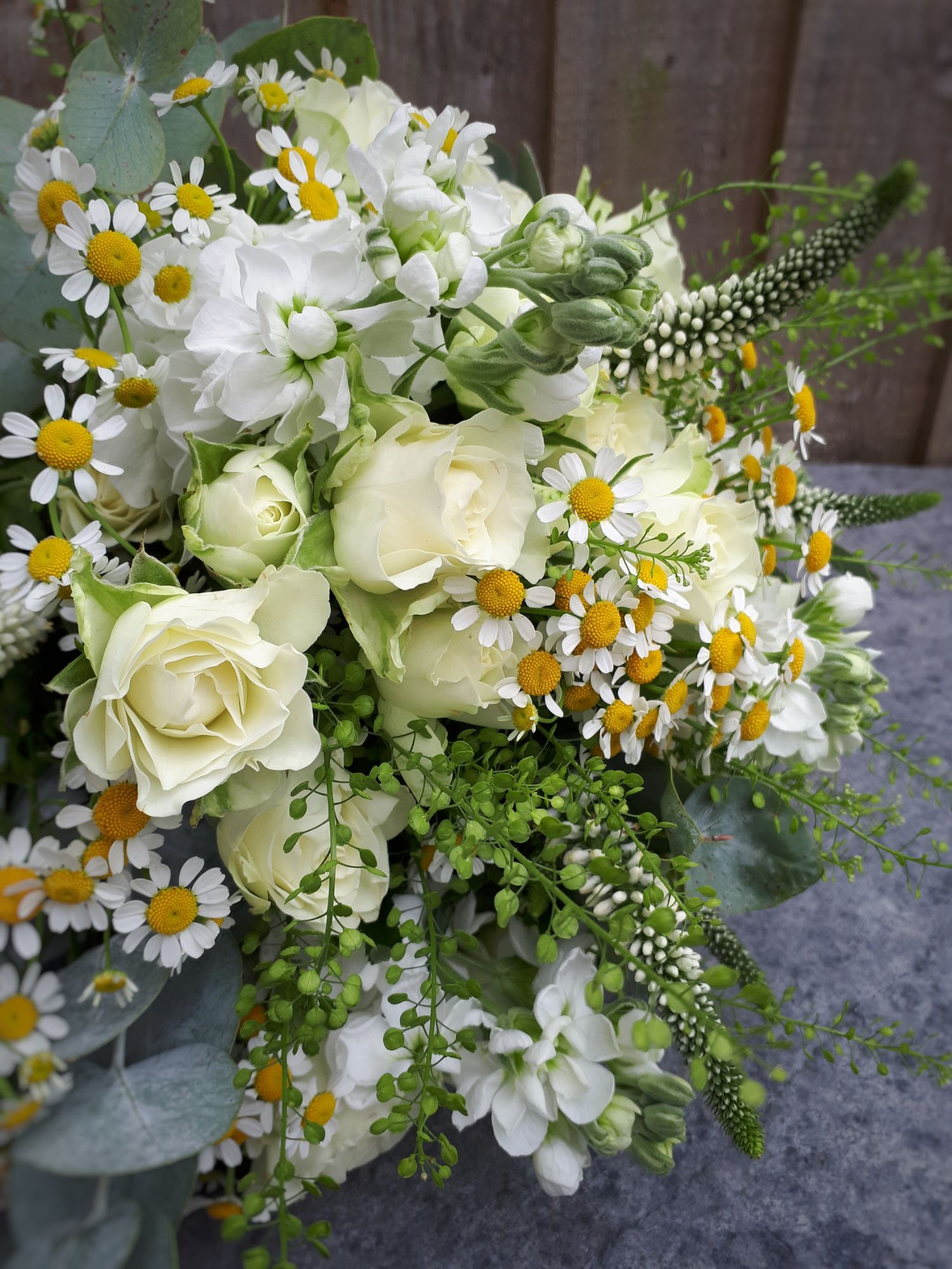 Daisy brides bouquet