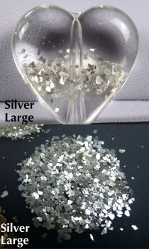 Glam Glitter - Silver large