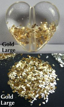 Glam Glitter - Gold Large