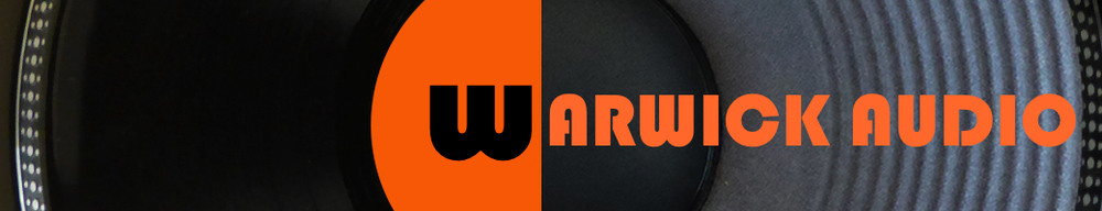 warwick audio, site logo.