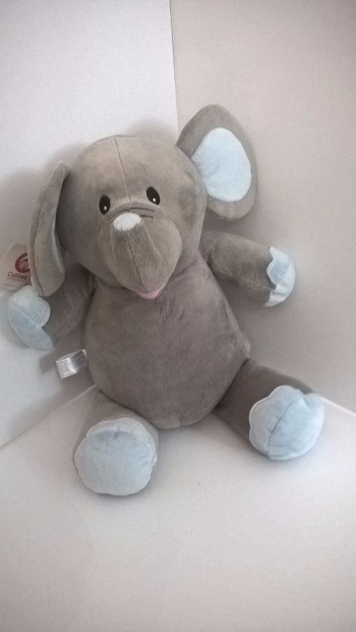 Cubbies Grey and Blue Elle Elephant
