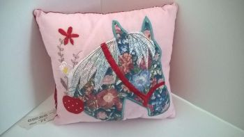 Pony - filled mini cushion