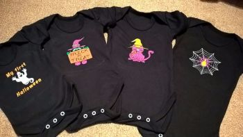 Halloween Babygro  - various designs