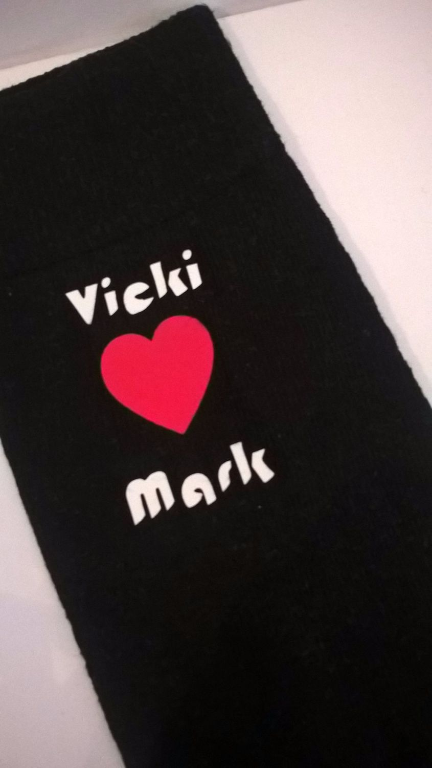 Love, Name, Valentines ...... Personalised Novelty Socks