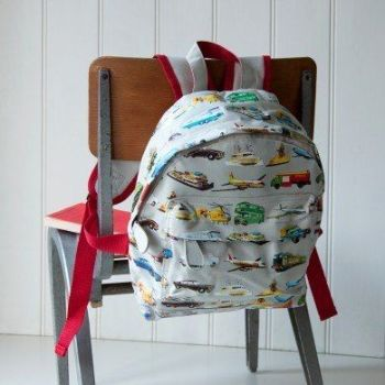Personalised Child's Mini Vintage Transport Backpack