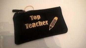 Top Teacher Pencil Case