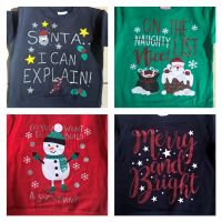 INFANTS Christmas Jumper - 4 different designs to choose from 2-6 Yrs