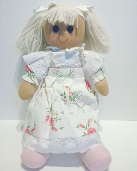 Rose Print Floral Rag Doll