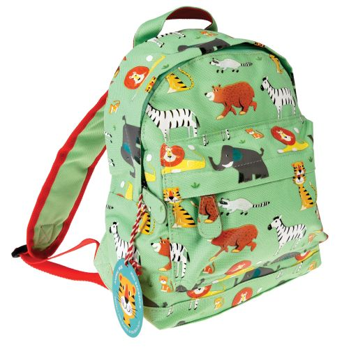 Personalised Child S Mini Animal Park Themed Backpack Ideal For Nursery School Personalized Bag Kindergarten