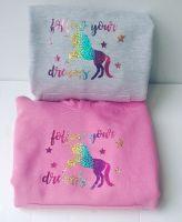 Children's Unicorn Follow Your Dreams Hoodie
