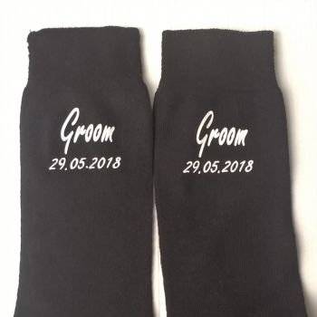Wedding Party Socks - Groom, Best Man, Father of the Bride, Usher etc