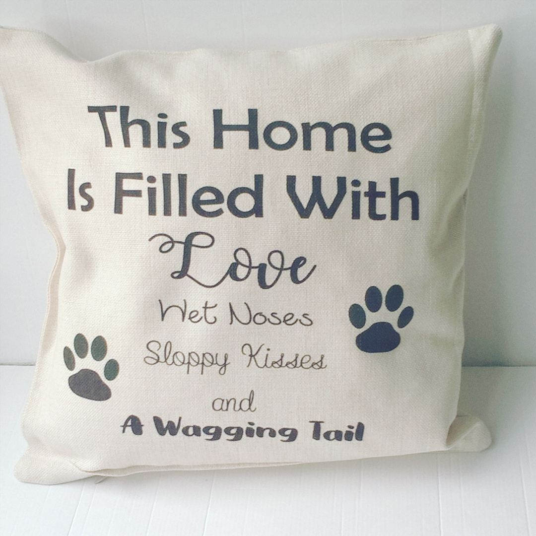 This home is filled with love, wet noses, sloppy kisses and a wagging tail