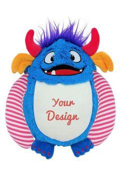 Personalised Cubbies blue monster Spike