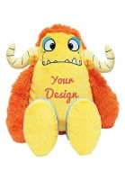 Personalised Cubbies yellow monster Spike