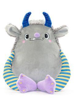 Personalised Cubbies grey monster